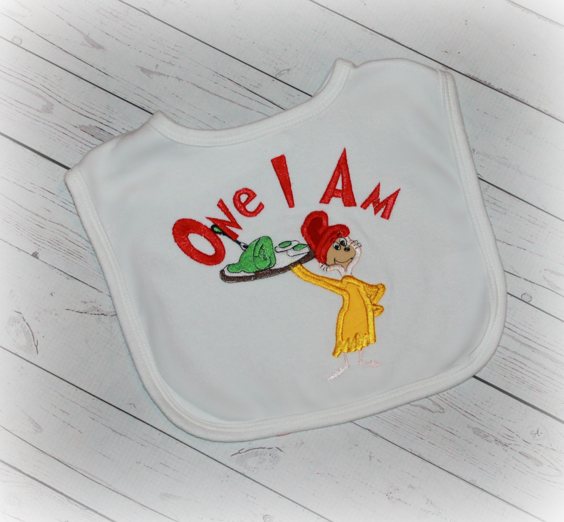 Green Eggs & Ham Sam I Am Boys or Girls Birthday Shirt or Bib
